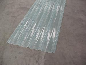 FRP Corrugated Lighting Sheet