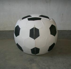 Child's Football Chair with Footstool