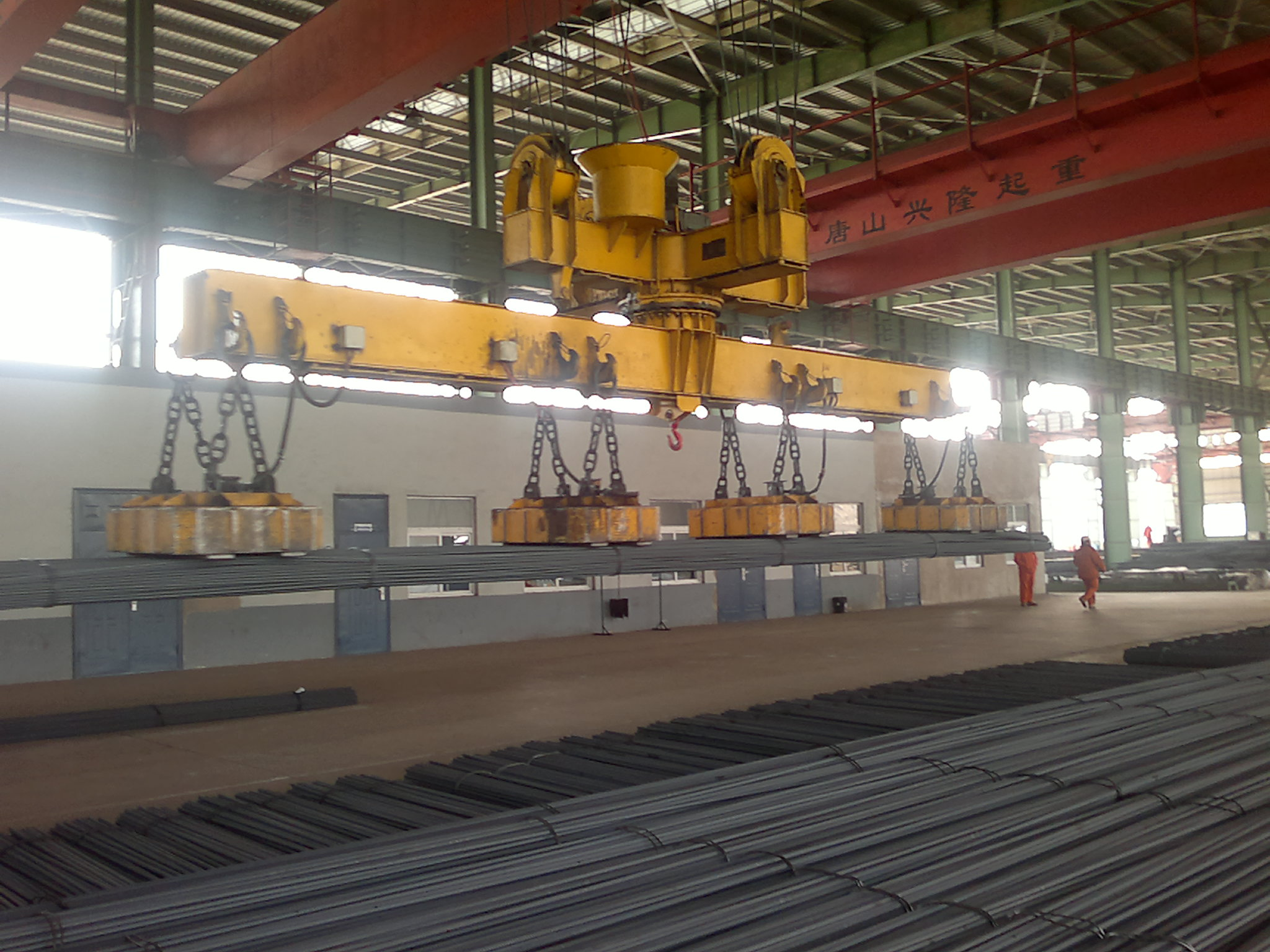 Alloy Hot Rolled Deformed Steel Rebars for Construction of Buildings