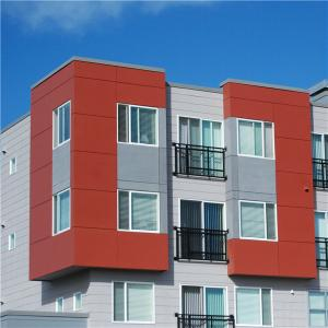 Calcium silicate board wood grein texture coibentati panels for external wall, Europ standard, BS certification