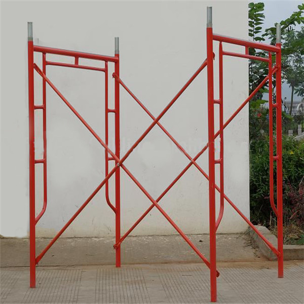 Door Type Scaffolding Frame System