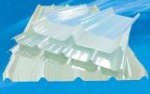 FRP Transparent Corrugated Sheets