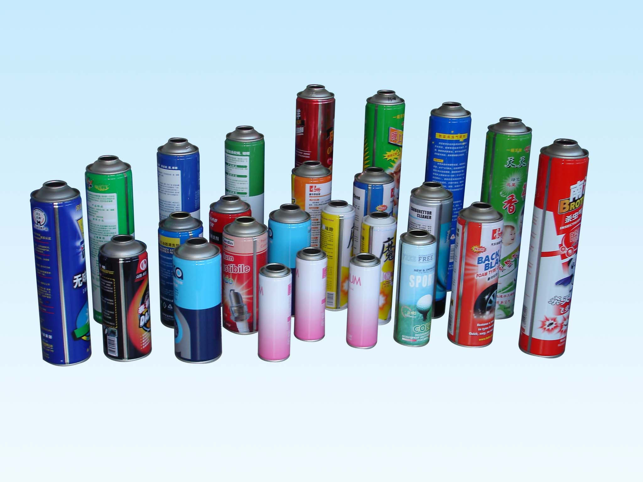 empty tin plate can, aerosol can, spray can