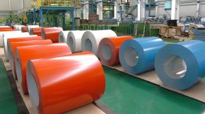 Prepainted Gavanlume Steel Coils