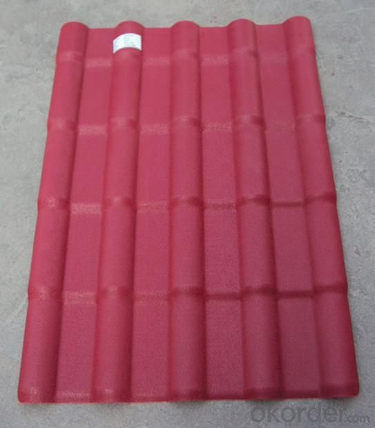 Geloy ASA Synthetic Resin Royal Roofing Tile