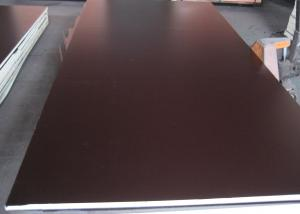 Best price 18mm black/brown film faced shuttering construction plywood(logo available)