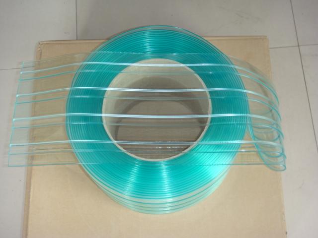anti-static strip curtain green
