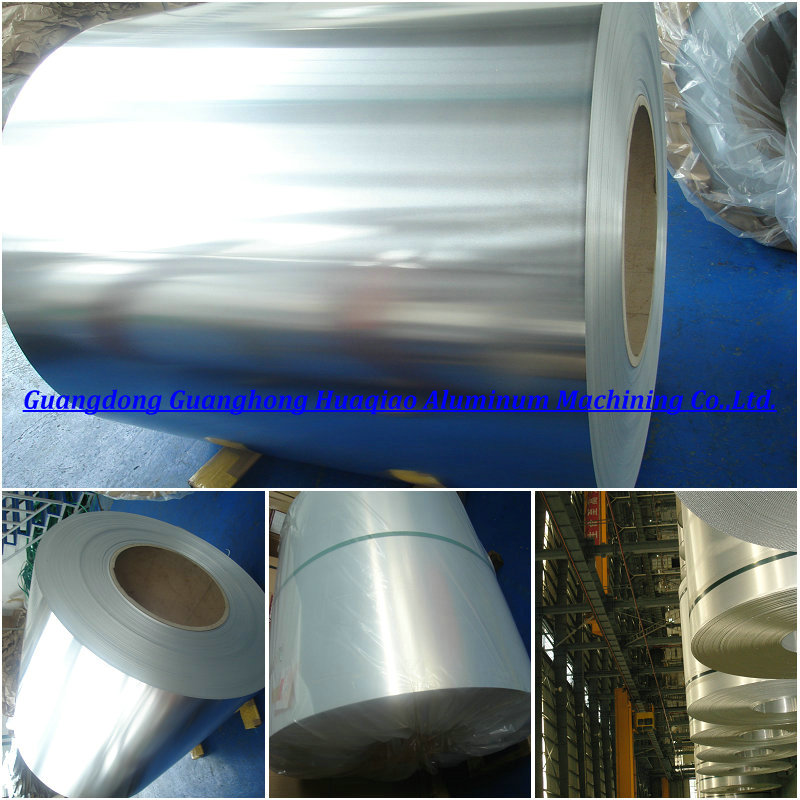 Chromated mill finish aluminium alloy metal