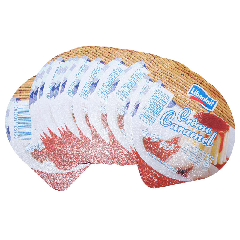 aluminum foil lid for yoghurt