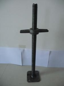 Black or Galvanized U -head Scaffolding Jack Base