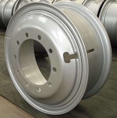 high quality trailer steel wheel for semi trailers 8.5-24 parts