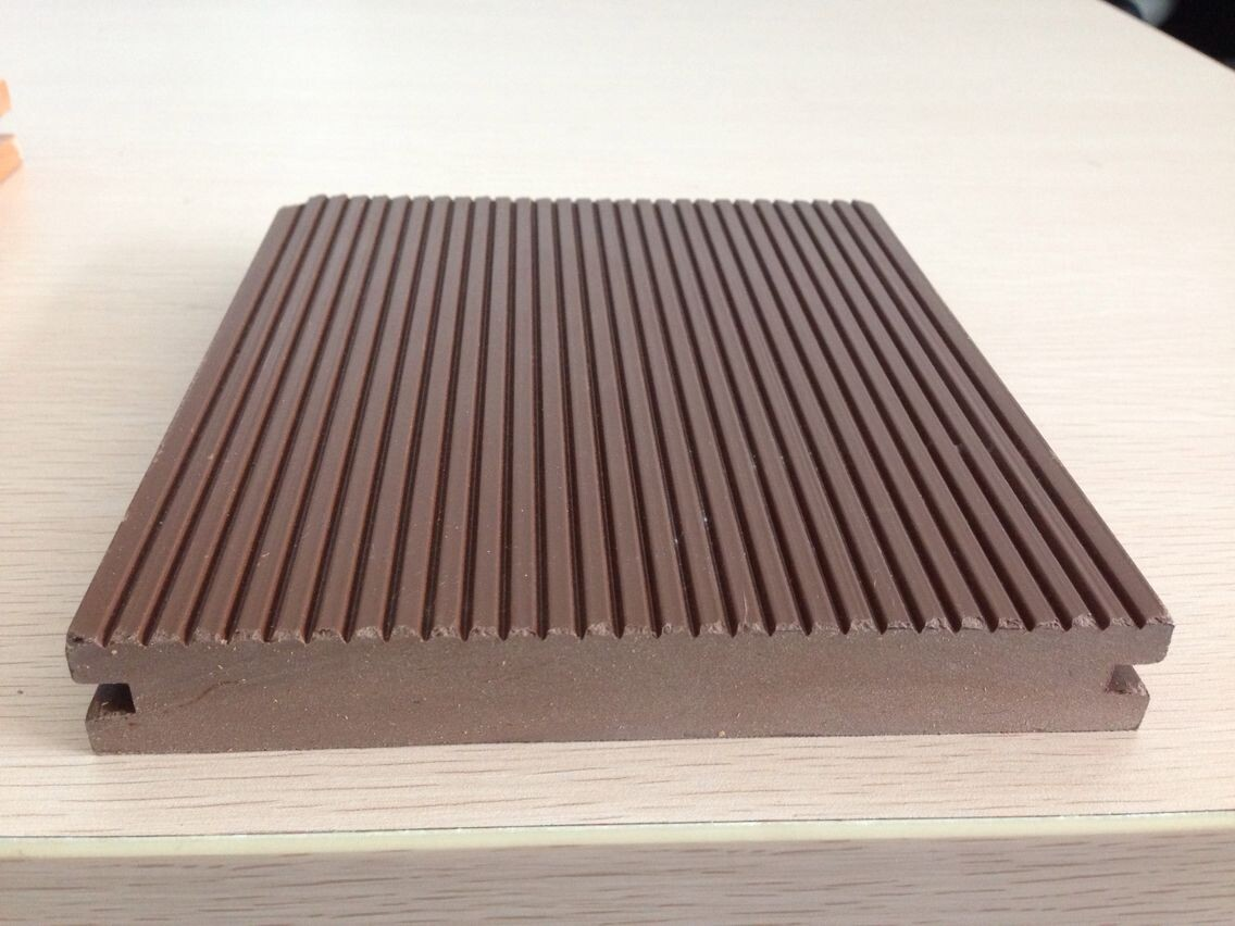 redwood color outdoor decking