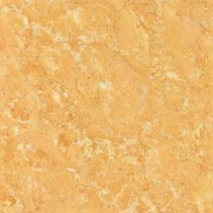 Polished Porcelain Tile The Soluble salt Matt Yellow Color CMAXSB4454