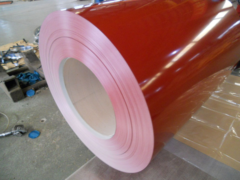 Pre-painted Aluzinc Steel Coil for Single Roof
