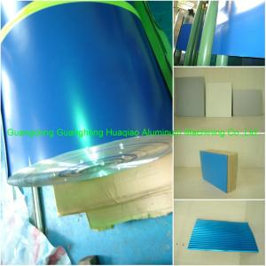Blue color coated aluminium alloy material