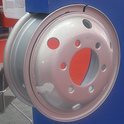 High quality tube steel wheel 5.50F-16
