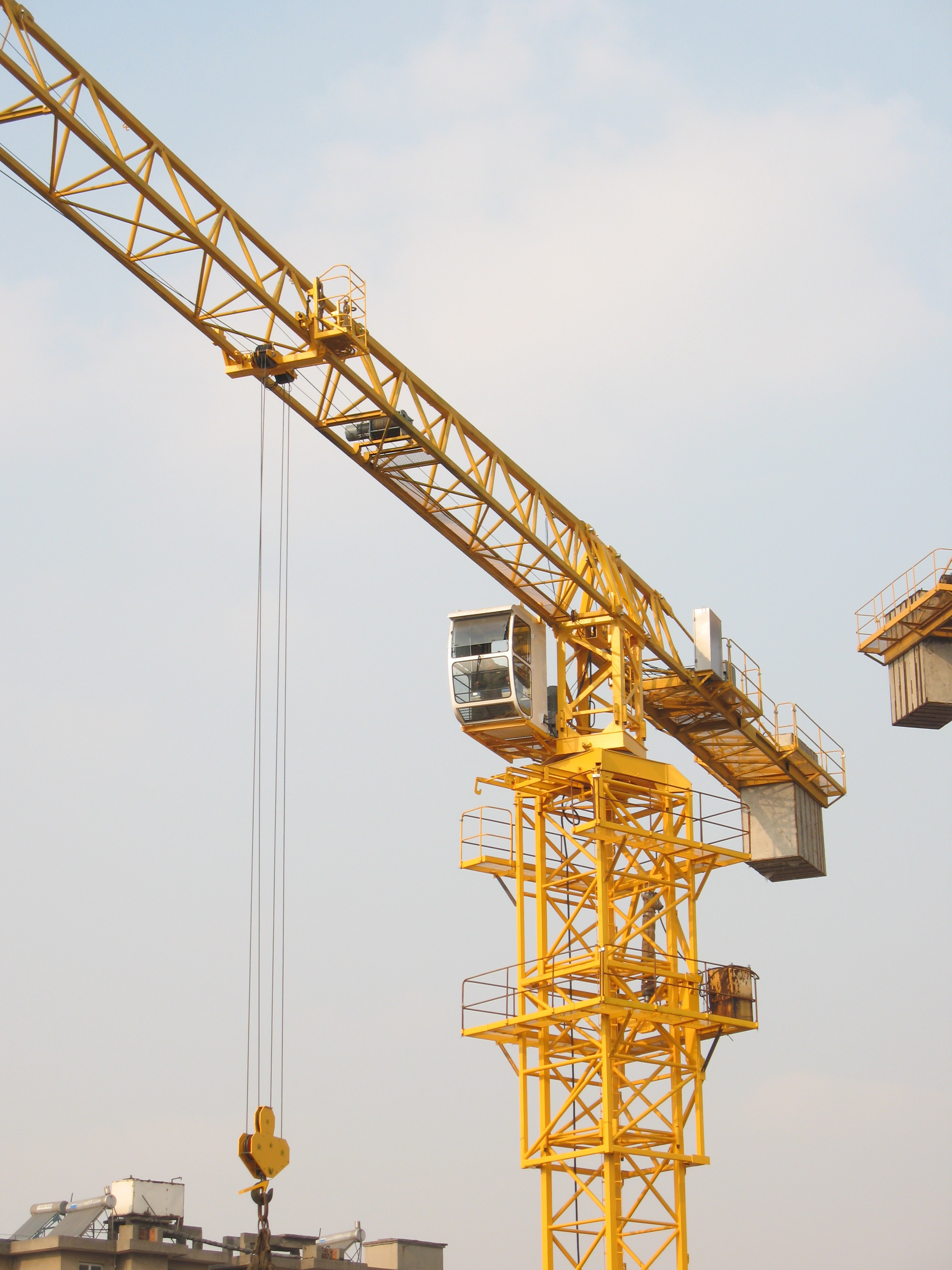 TCP6013D Topless Tower Crane-8T