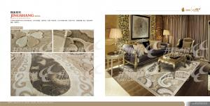 Woven Wilton Jacquard Rugs , PP Carpet and Rugs