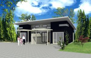 Prefab house E08