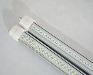 LED Tube 10W, SMD2835,48 PCS CHIPS,3000K Clear Cover,2 feet LED T8 Tube With FA8 base ,G
