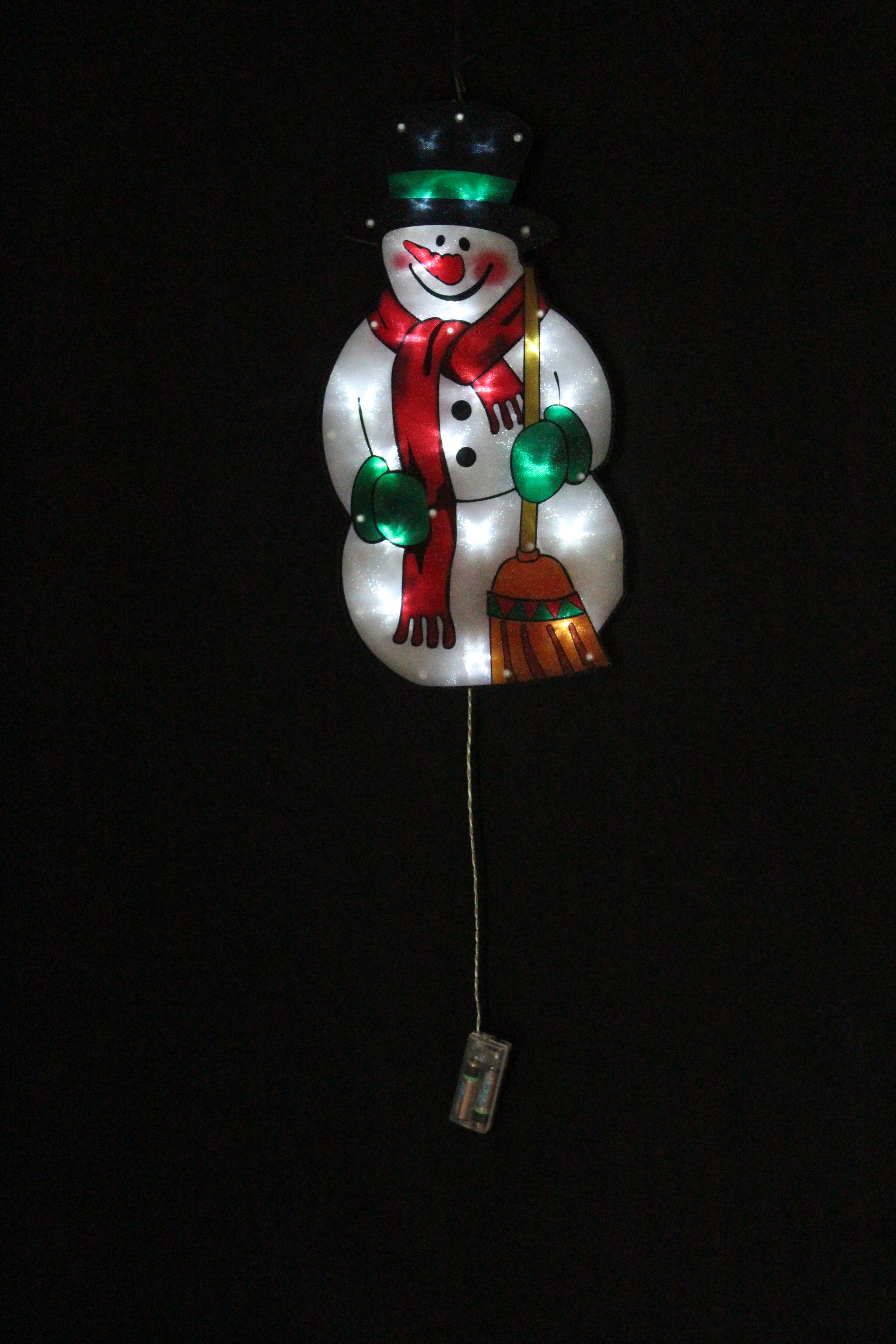 PVC Deco Christmas Light with Battery Operated