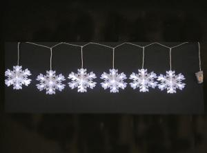 10ct Snowflake String Light