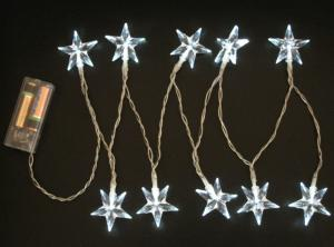 Battery Light String with Star