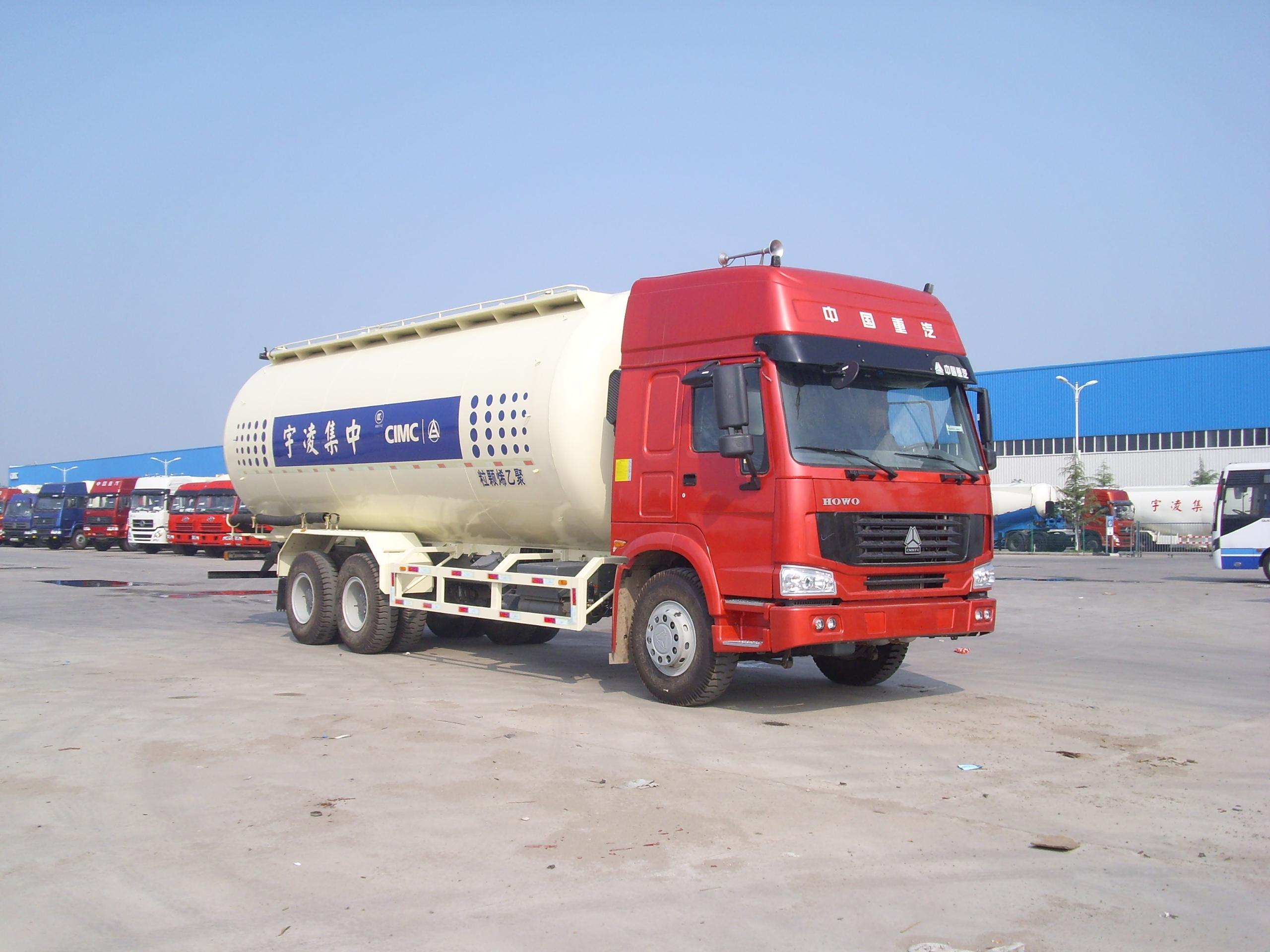 35m3 CIMC LINYU cement truck