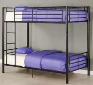 Metal Bunk Beds Twin over Twin Bunk Beds CM-4500