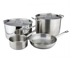 Stainless Steel cookware set 19