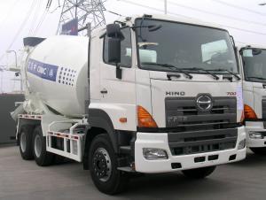 Hino 9m3 concrete mixer truck