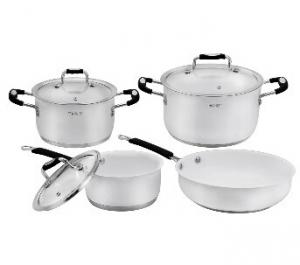 Stainless Steel cookware set 11