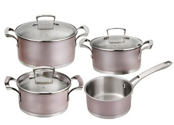 Stainless Steel cookware set 5