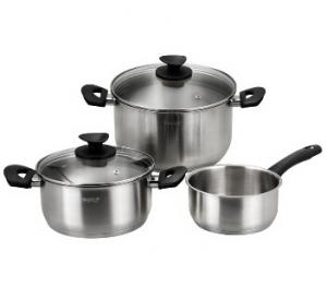 Stainless Steel cookware set 8
