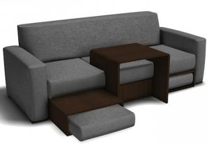 3 seater multi-function fabric sofa 6708