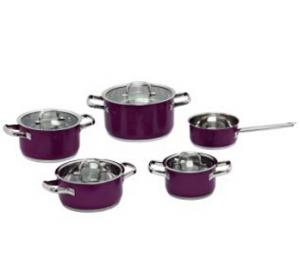 Stainless Steel cookware set 9