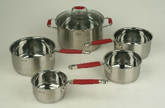 Stainless Steel cookware set 3