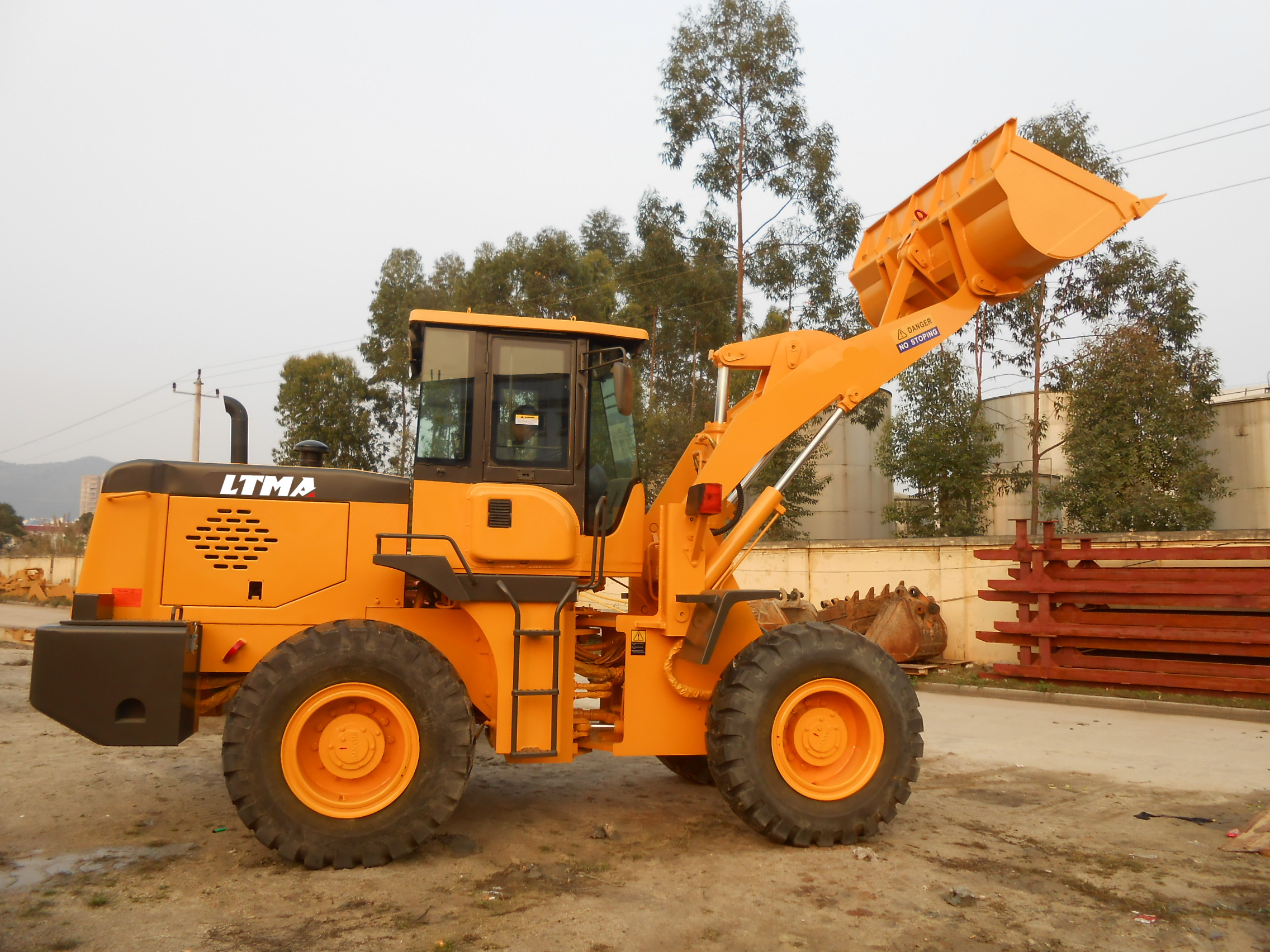 new small design 3ton Chinese wheel loader