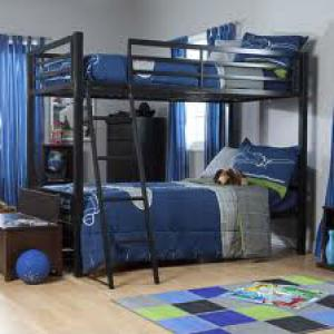 Metal Bunk Beds Twin over Twin Bunk Beds CM-4500
