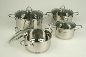 Stainless Steel cookware set 2