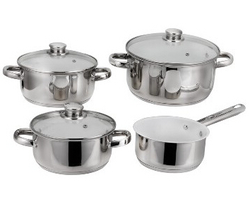 Stainless Steel cookware set 6
