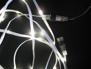 Low Voltage White LED Rope Light