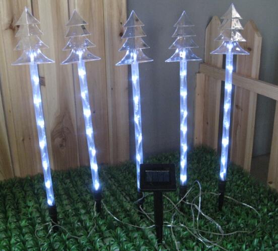 LED Snowfall Pathway Light