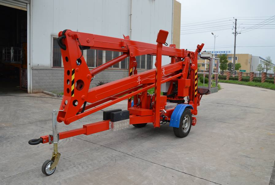 15M Trailer mounted platforms