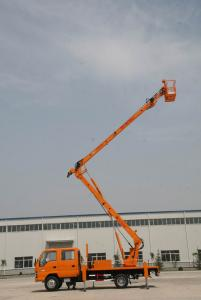 Articulated boom aerial working platform working height 16m