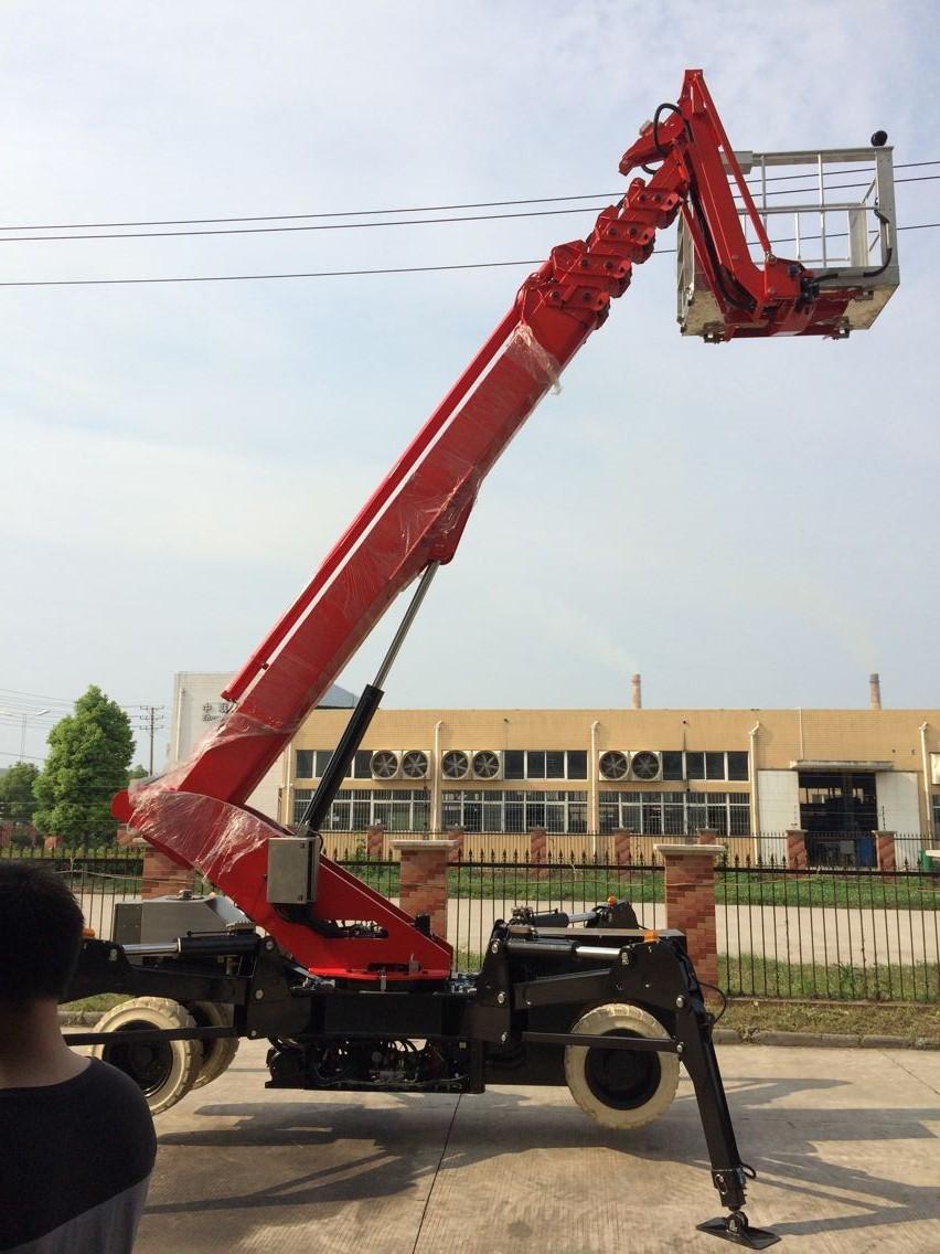 spider lift 26m