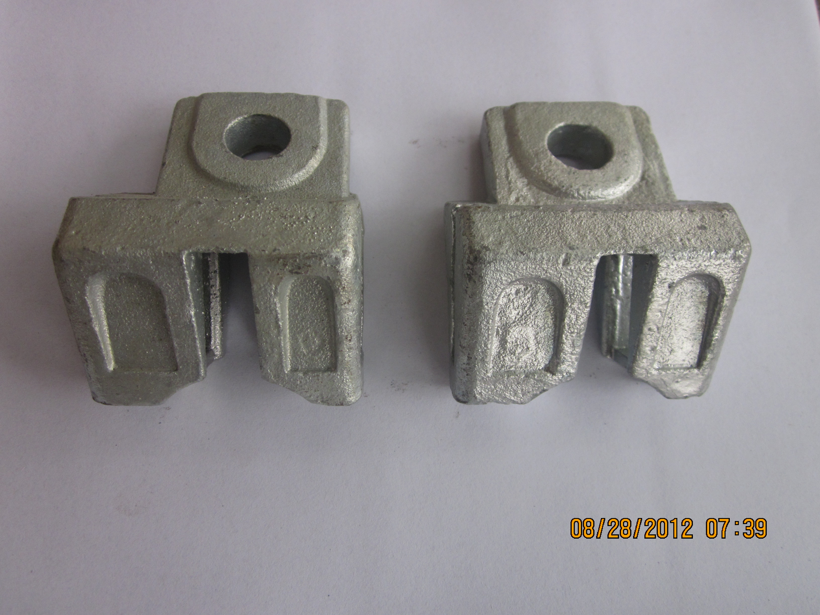 SCALFFOLDING ACCESSORIES DIAGONAL BRACE END