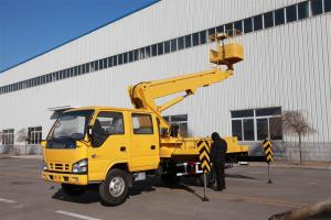 18m Telescopic boom aerial working platform