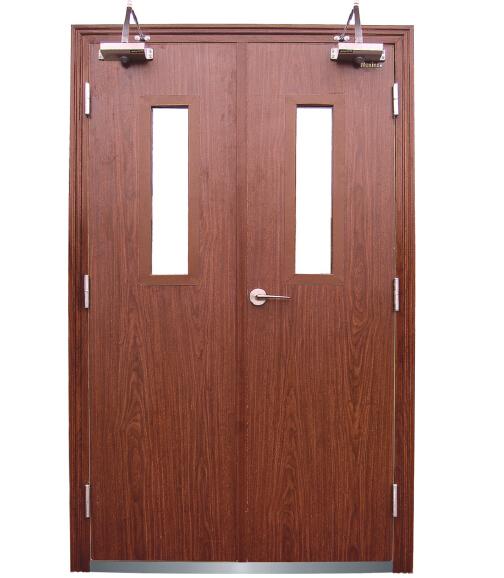 Wooden Fireproof Security Door Manufactory