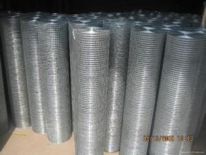 WEAVING WITH HOT DIPPED GALVANIZED IRON WIRE